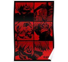 Ken Kaneki Ghoul Poster
