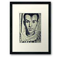 Travis Barker Framed Print