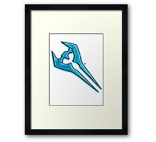 Halo: Energy Sward  Framed Print