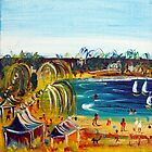 Market Day at the Beach by Wendy Eriksson