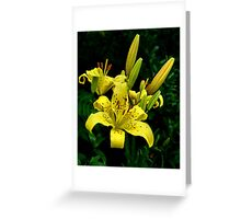 Yellow dude Greeting Card