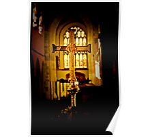 Golden Cross Poster