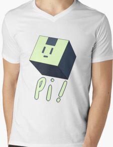Usagi Modoki Cube Mens V-Neck T-Shirt
