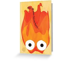 Calcifer's Curse Variant Greeting Card