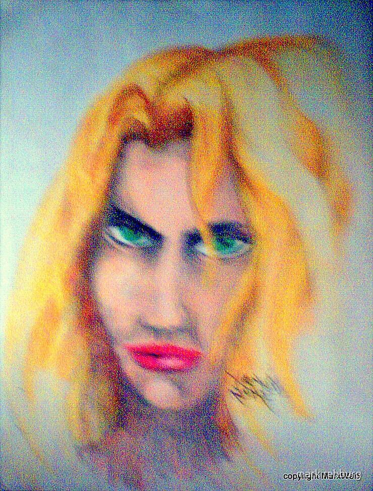 Blonde Bombshell by mark rehburg