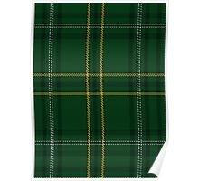 00362 Wexford County (District) Tartan  Poster