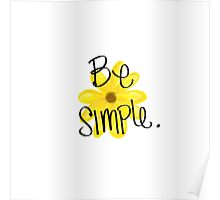 Be Simple Poster