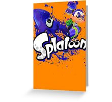 Splatoon - Inkling  Greeting Card
