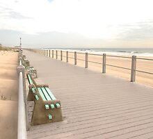 Pastel Boardwalk by David Turton