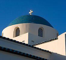 Greek Orthodox Church, Santa Barbara, California by Eyal Nahmias