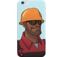 Red Engineer iPhone Case/Skin