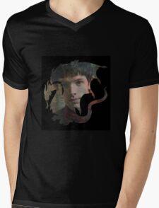 Merlin Camelot Crest  Mens V-Neck T-Shirt