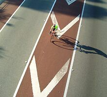 Pic of me riding in the Freeway Bike Hike on Sunday the 22nd of March 2009 by Tim Slade