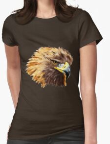 Golden Eagle (Shirt) Womens Fitted T-Shirt