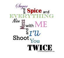 sugar and spice b Photographic Print