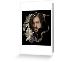 Merlin- Gwain Camelot Crest Greeting Card