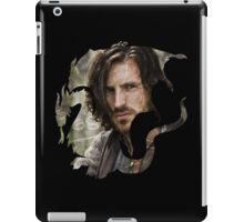 Merlin- Gwain Camelot Crest iPad Case/Skin