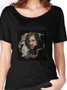Merlin- Gwain Camelot Crest Women's Relaxed Fit T-Shirt