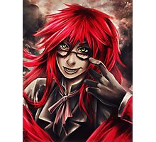 Black Butler: Grell Photographic Print