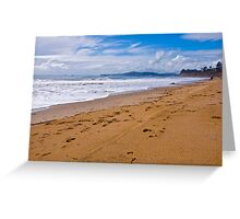 Butterfly Beach. Montecito, California Greeting Card
