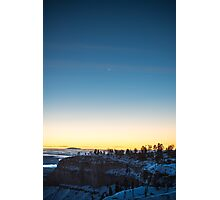 Moonrise Portrait – Bryce Canyon National Park, Utah Photographic Print