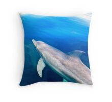 UNDER THE SEA - THERE ARE WE... Throw Pillow