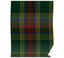 00361 Waterford County District Tartan Poster