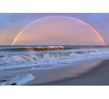 Rainbow Surfer Photographic Print