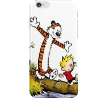 calvin and hobbes iPhone Case/Skin