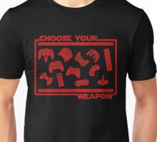 Choose Your Weapon Video Game Unisex T-Shirt