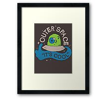 OUTER SPACE! Framed Print