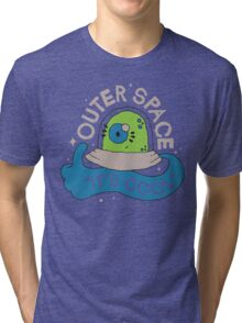 OUTER SPACE! Tri-blend T-Shirt