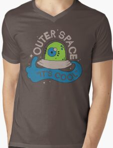 OUTER SPACE! Mens V-Neck T-Shirt