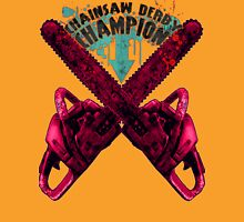 Chainsaw Derby Champion Womens Fitted T-Shirt