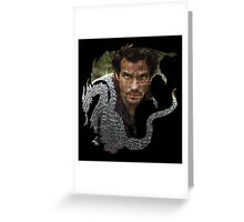 Merlin- Lancelot Crest Greeting Card