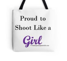 like a girl Tote Bag