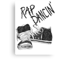 Rap Dancin' Canvas Print