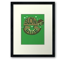 Slow Ride Framed Print