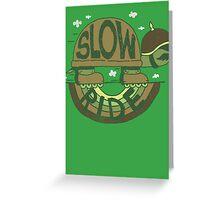 Slow Ride Greeting Card