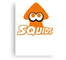 Splatoon - Squids Canvas Print