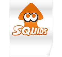 Splatoon - Squids Poster