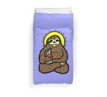 buddha Sloth Duvet Cover