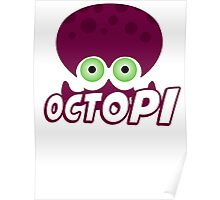 Splatoon - Octopus Poster