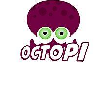 Splatoon - Octopus Photographic Print