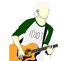 Michael Clifford Drawing Photographic Print