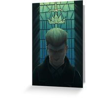 The Sword of Damocles Greeting Card