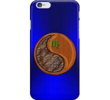Virgo & Ox Yin Wood iPhone Case/Skin