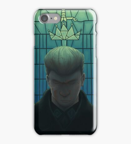 The Sword of Damocles iPhone Case/Skin