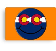 Happy in Colorado Canvas Print