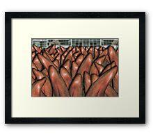 See The Knee Sea Framed Print